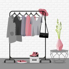 Kledingrekken voor een opgeruimde en overzichtelijke garderobe