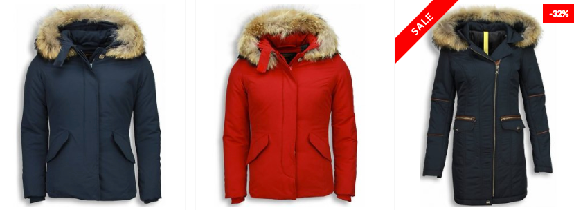 warme winterjas dames